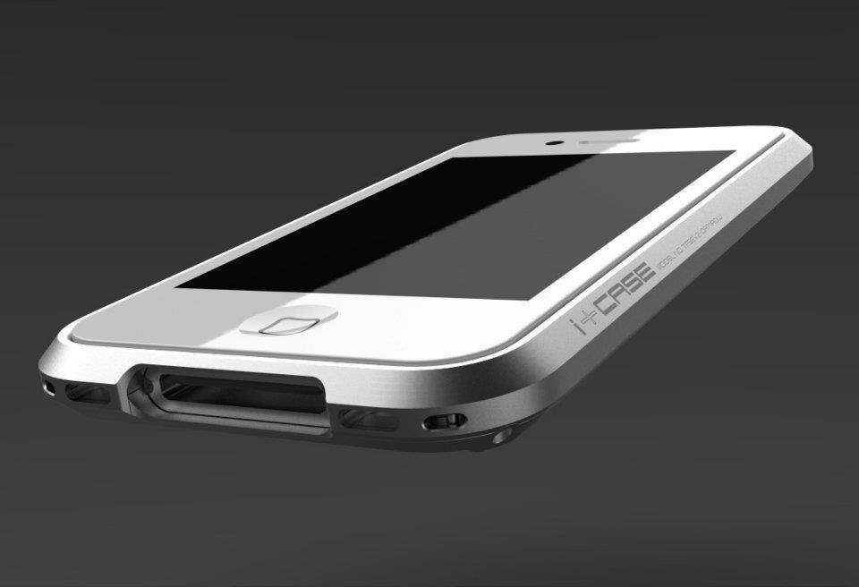 i+Case Aluminum iPhone 4S Case 4