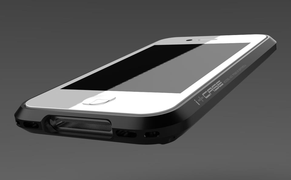 i+Case Aluminum iPhone 4S Case 5