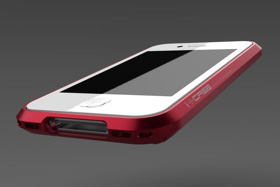 i+Case Aluminum iPhone 4S Case 6