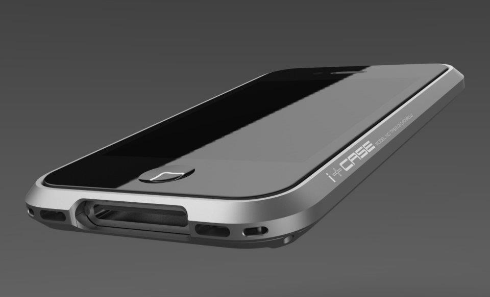 i+Case Aluminum iPhone 4S Case 7