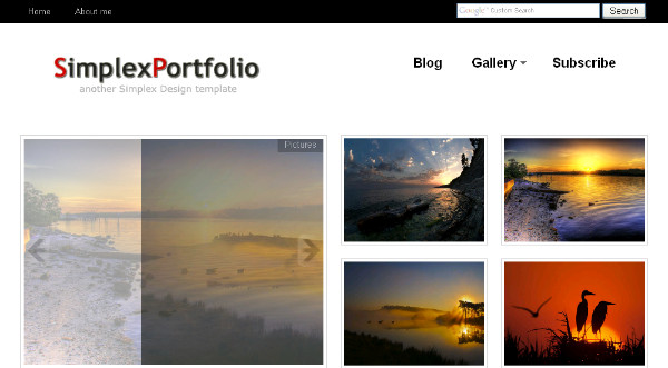 20 Photo Gallery Blogger Templates to Free Download