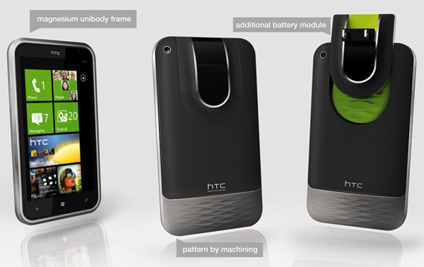 HTC Autonome Concept Mobile Phone 3