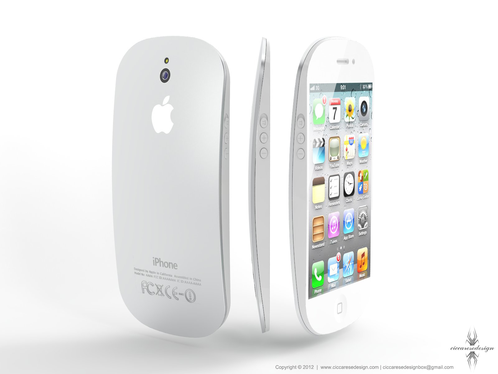 iPhone 5 Concept by Ciccarese Design 1