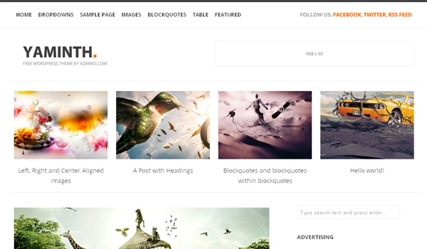 30 Free and Premium WordPress Themes – April 2012