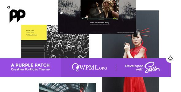 A Purple Patch Creative Portfolio Theme