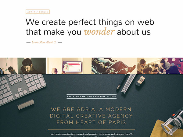 ADRIA-WordPress-theme