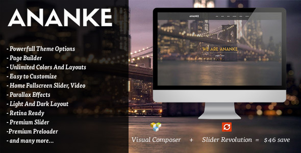 Ananke One Page Parallax