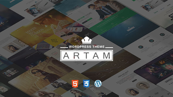 Artam-One-Page-WordPress-Theme