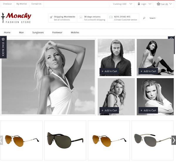 30 Fresh Magento eCommerce Themes