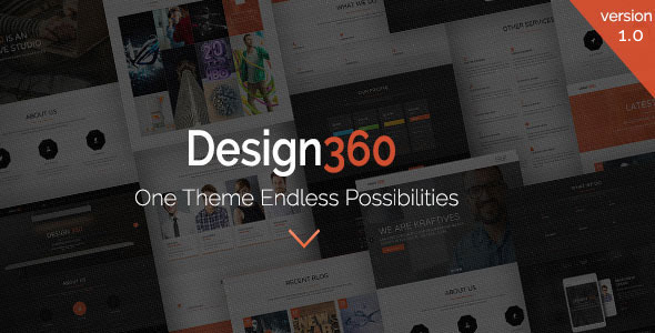 design 360 wp theme