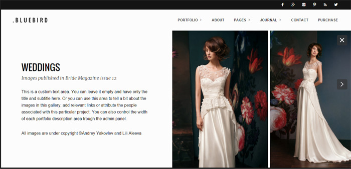 40 Beautiful Wedding WordPress Themes For Wedding Photographers