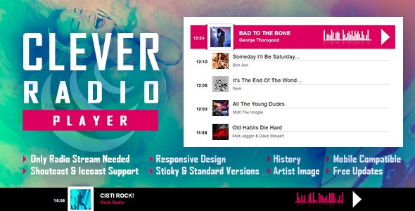 Clever-Radio HTML5 Audio Player
