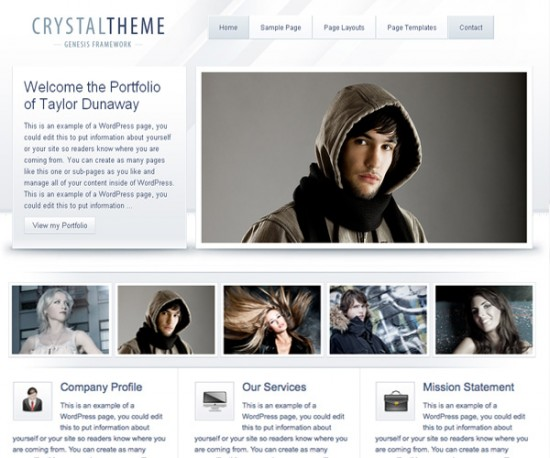 40 WordPress Themes for Portfolio Websites