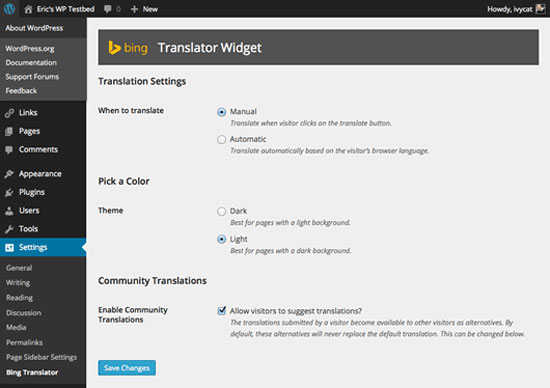 wordpress-plugins-bing-translator