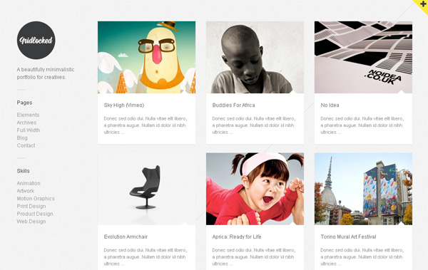 Portfolio Style Wordpress Themes Wordpress Portfolio Theme