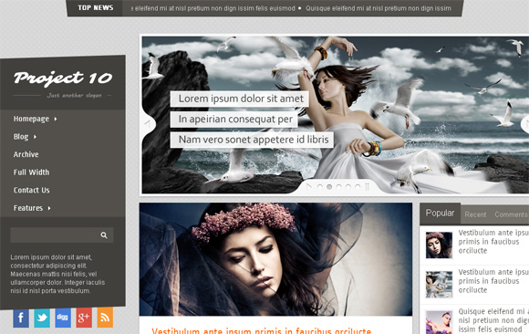30 Fresh and Free Blogger Templates