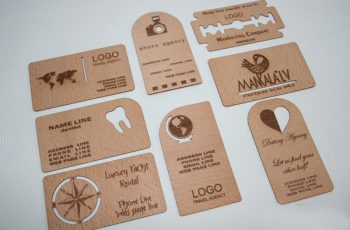 Wooden Business Card 01