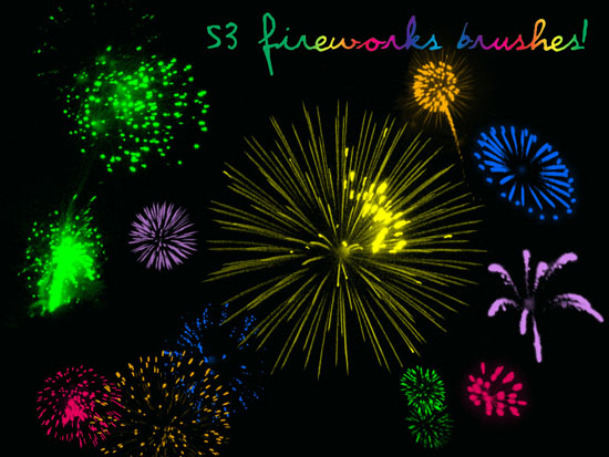 53-Fireworks-Brushes