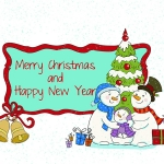 Beautiful Christmas Wallpapers 2012