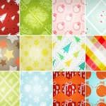 50 Christmas Patterns for Your Designs