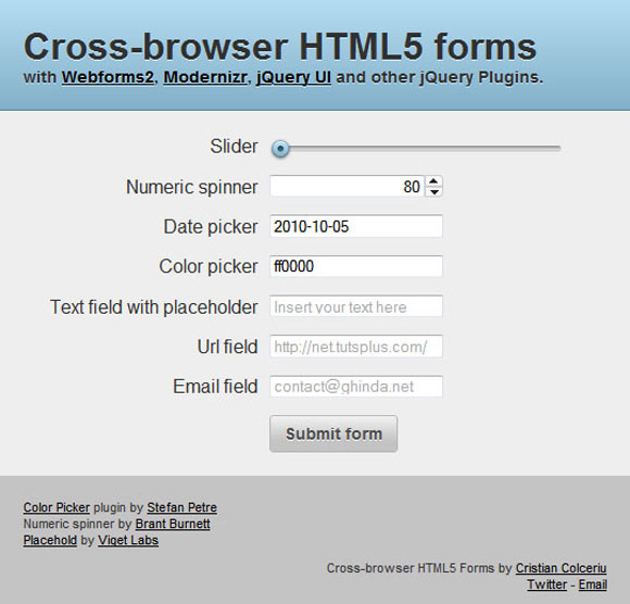 Cross-Browser-HTML5-Forms