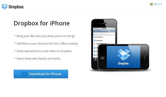 Dropbox-for-iPhone