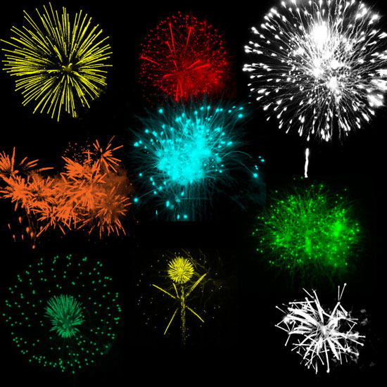 Fireworks-3-brushes