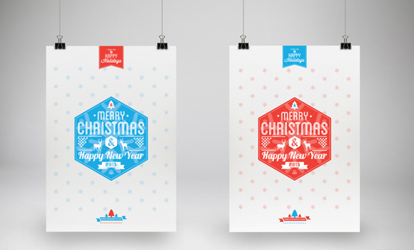 Typography-Christmas-Card-2013