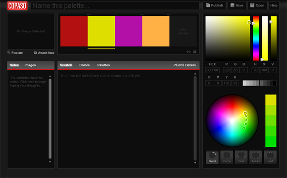 ColorPaletteSoftware