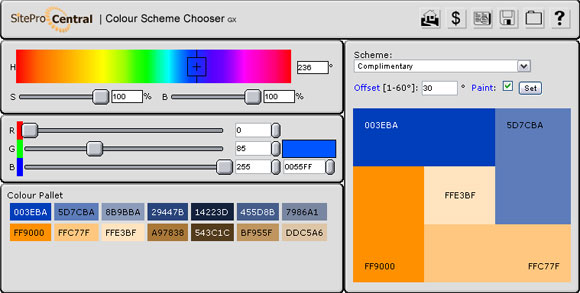 HTML-Color-Code-Combination-Chooser
