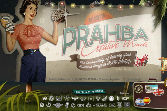 Prahba-website-vintage-retro