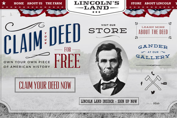 lincolns-land-website