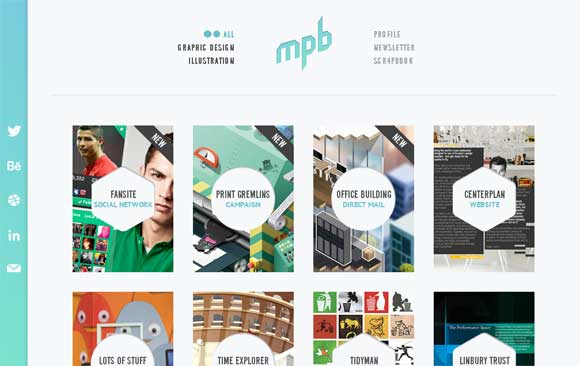 graphic design and illustration profile site - Graphic Artist Profile