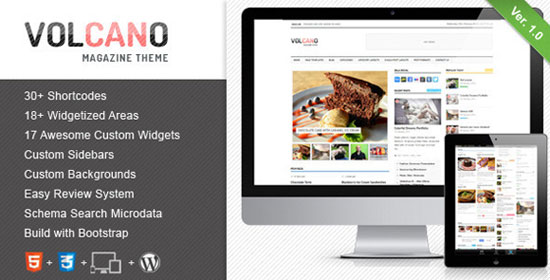 Volcano-WordPress-Magazine