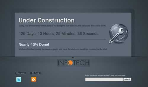 Clean-Under-Construction-Template