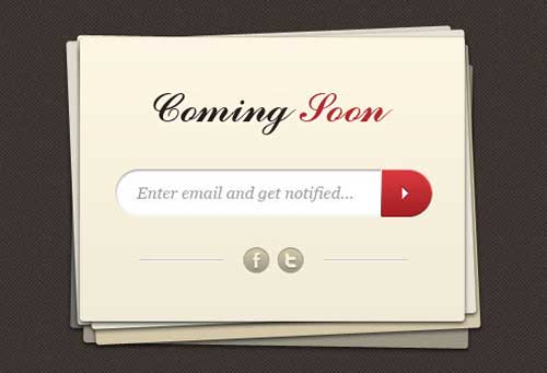 Coming-Soon-Page-Template