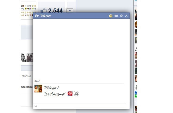 Pretty-Facebook-Chat