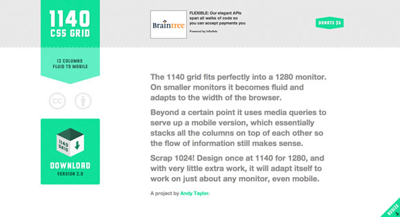 The 1140px CSS Grid