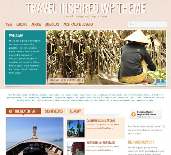 Travel-Inspired-theme