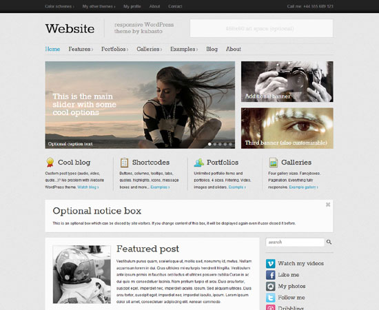 Website-theme