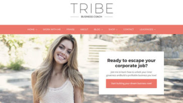 tribe-feminine-coaching-business-wordpress-theme