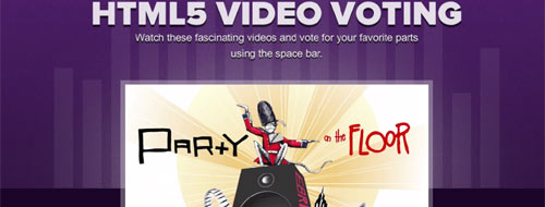 HTML5-Video-Voting