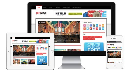 HotNews-WordPress-Theme