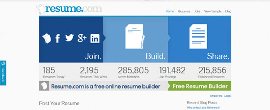 create a professional looking resume online resumecom