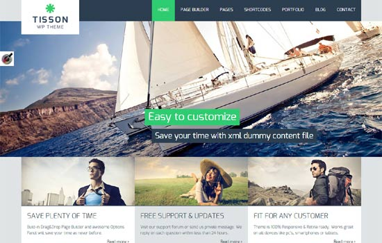 Tisson-WP-Theme