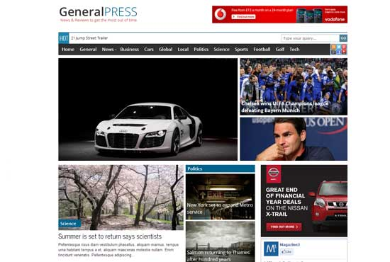 General-WordPress-theme
