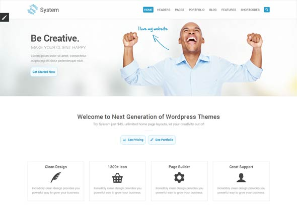 SystemMulti-Purpose-Theme