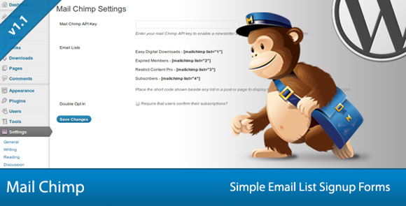 Simple-Mail-Chimp-Signup-Forms