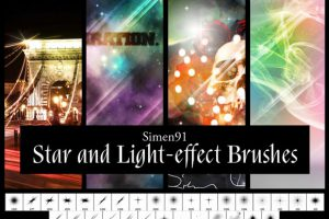 Star-and-Light-effect-Brushes