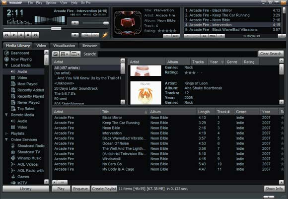 Winamp-media-player